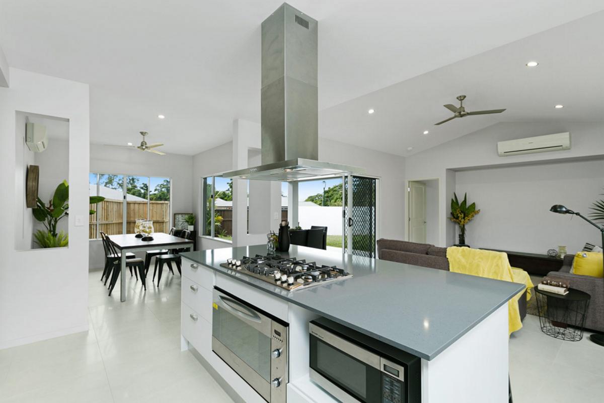 The Elderberry Display Home Kitchen Island